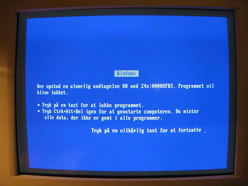 Will the Legendary Blue Screen of Death Be No More (For Windows 8)?