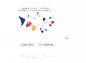 Google Introduces First HTML5-only Google Doodle, Honors Alexander Calder