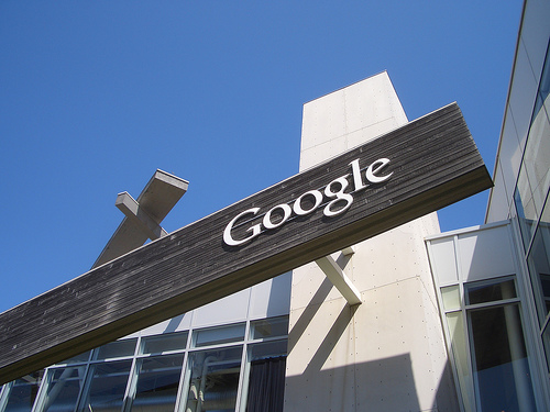 """Standard & Poor's upgrade Google stock rating to """"Hold"""" from """"Sell"""" a few days after downgrade from """"Buy"""" rating. Image: brionv / Flickr (CC)"""