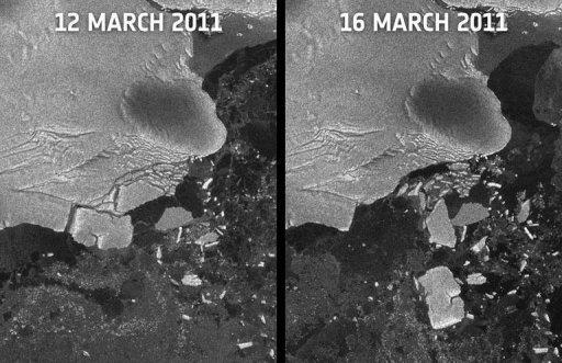 European Space Agency Says Japan Tsunami Knocked 9.5Km Iceberg From Antarctic Shelf