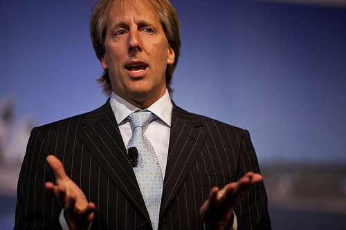 Rod Beckstrom, the head of ICANN, will not be seeking another term. Image: kjd / Flickr (CC)