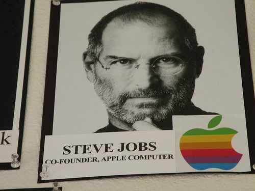 """The official Steve Jobs biography, """"Steve Jobs: A Biography"""", comes out November 21, according to publisher Simon & Schuster. Image: Annie Bannanie 06 / Flickr (CC)"""