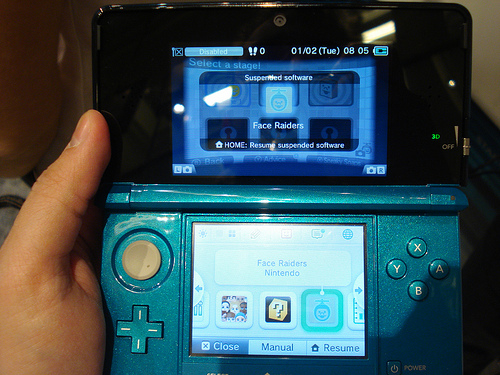 Sales of the Nintendo 3DS saw a spike in Japan after Nintendo announced a price cut. Image: John.Karakatsanis / Flickr (CC)