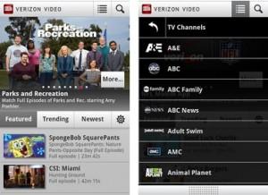 Verizon Wireless Releases Verizon Video App for Android - Verizon Wireless, Verizon Video app for Android, video streaming, Video on Demand