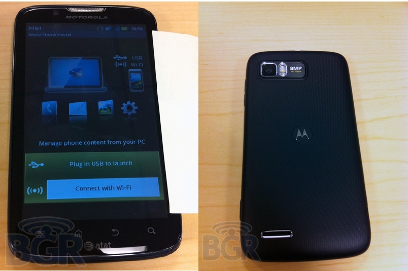 Motorola ATRIX 2 Leaks In Photo