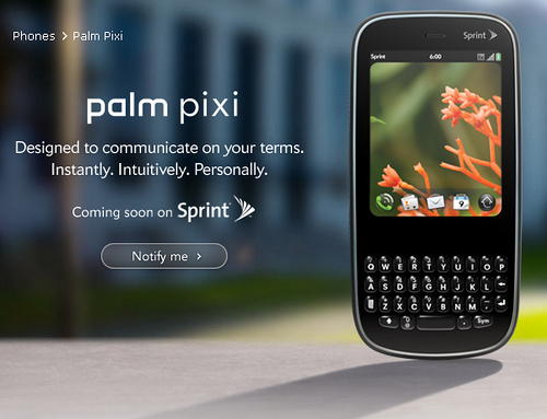 Amazon may buy Palm and the webOS platform from HP. Image: louisvolant / Flickr (CC)