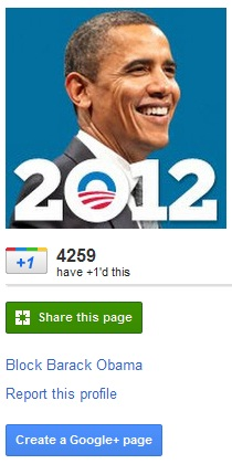 Obama 2012 Campaign Extends Online Presence, Creates Google+ Page
