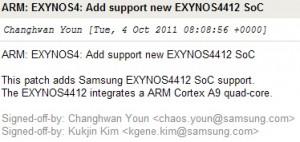 Samsung's Quad-Core Exynos 4410 Chipset Exposed - Exynos 4412, quad-core Exynos, Nvidia Tegra 3