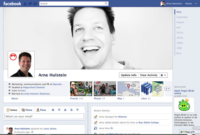 New Zealand Facebook: Facebook Timeline Rolling Out In New Zealand