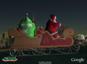 Google, NORAD Tracks Santa Claus For Christmas