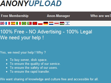 Anonymous Calls Anonyupload 'Scam' - Anonyupload, Anonyupload.com, Anonymous