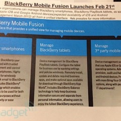 Leaked Documents Point To Feb 21 Release Of PlayBook OS 2.0