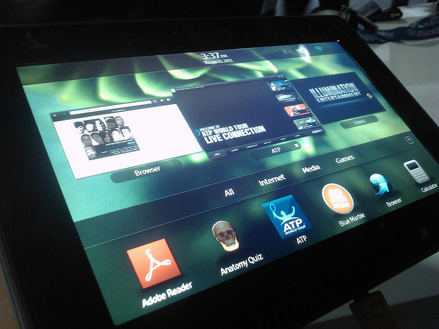 RIM Confirms BB10 OS Update for BlackBerry PlayBook - BB10 OS, BlackBerry PlayBook, BlackBerry 10 OS, RIM Playbook update