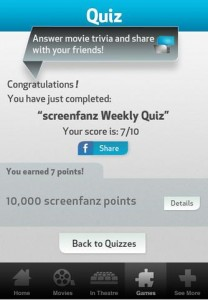 Screenfanz -app-quiz