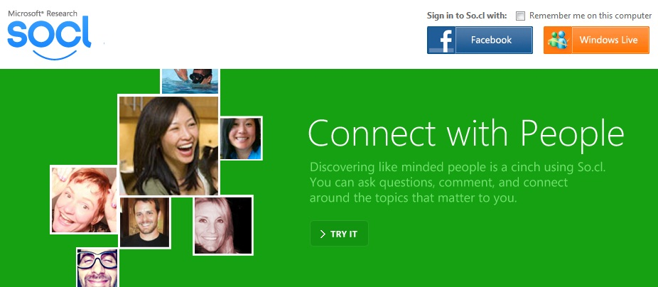 Microsoft Launches Its Own Social Network with Socl
