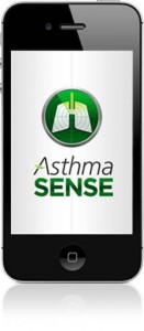 Logo for AsthmaSense App for iOS