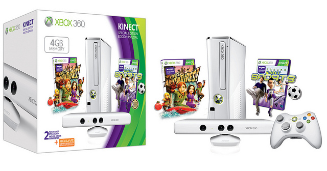 4GB Xbox 360 Kinect bundle, $99, GameStop, Best Buy, 