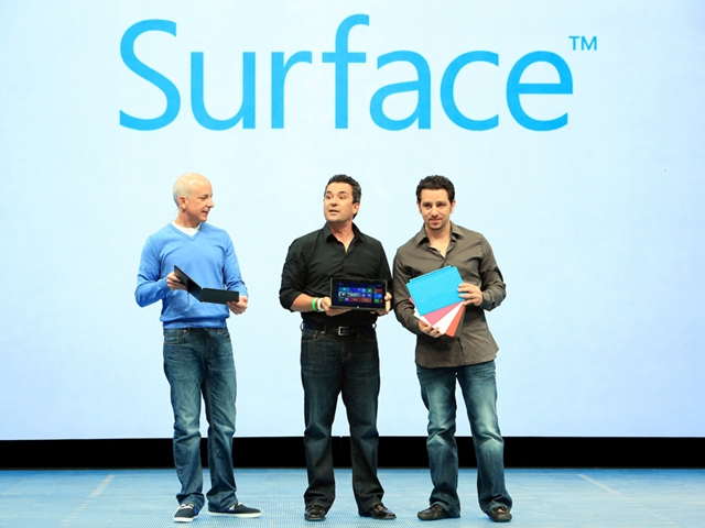 Surface for Windows RT, Surface for Windows 8 Pro, Touch Cover, Type Cover, Microsoft, Windows Tablet, Windows 8, News