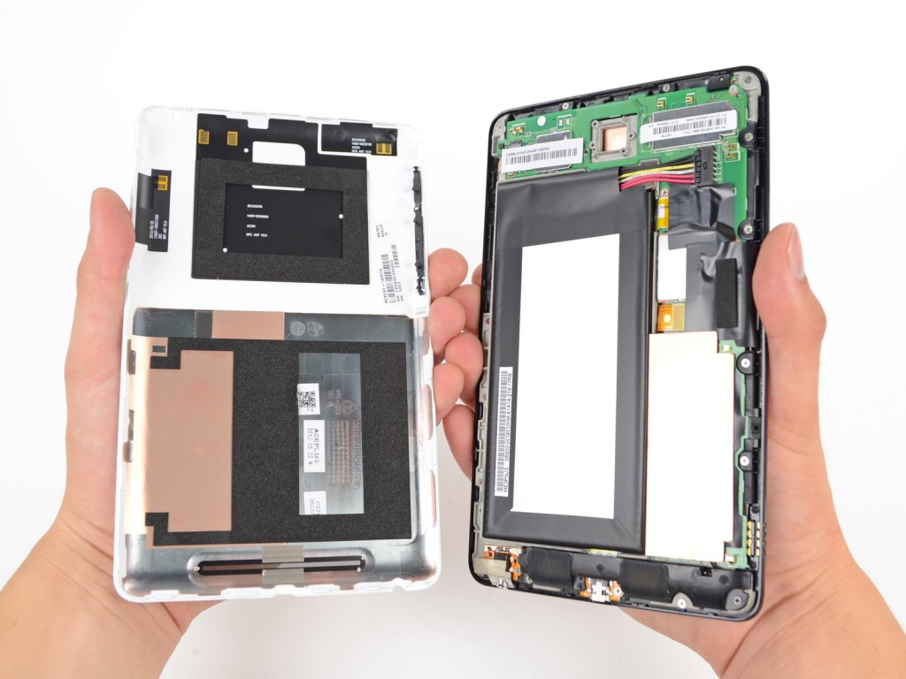 Nexus 7 Battery Replacement Easier Than Apple iPad