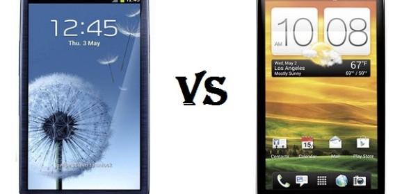 Battle of the Titans: Samsung Galaxy S3 vs HTC One X