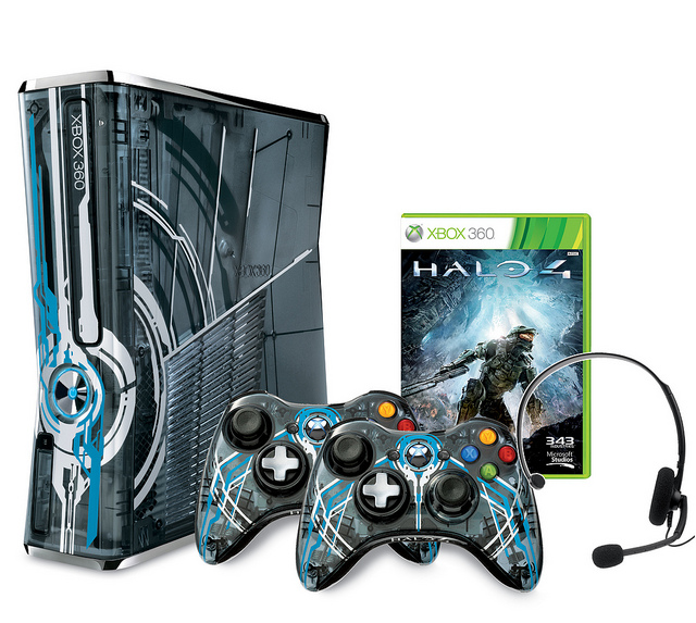 xbox 360 limited edition halo 4 console bundle now up