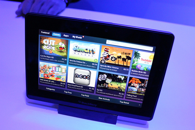BlackBerry PlayBook, 4G LTE, BlackBerry, RIM, Research In Motion, New PlayBook