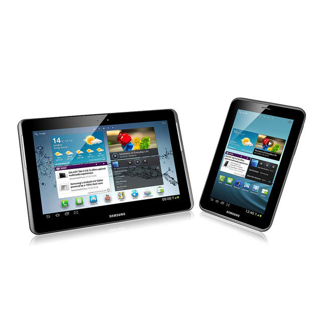 Galaxy Tab 2 7.0 Student Edition, Galaxy Tab 2 7.0, Student Edition, US, keyboard dock, USB adapter,