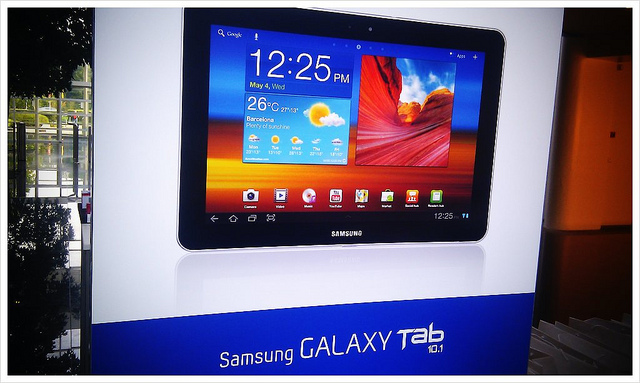 Galaxy Tab, Galaxy Tab 10.1, Galaxy Tab 7.0 Plus, Samsung, Android 4.0, Ice Cream Sandwich, update, ICS update,