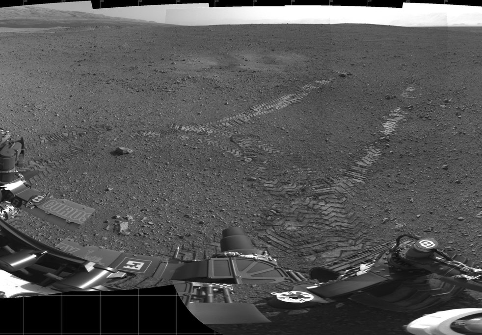 mars rover first photo - photo #20