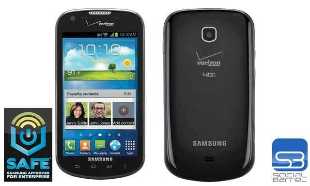 Galaxy Stellar, Samsung, Verizon, Samsung SAFE, Samsung Approved for Enterprise, Enterprise, 4G LTE, free, smartphone, launch, 