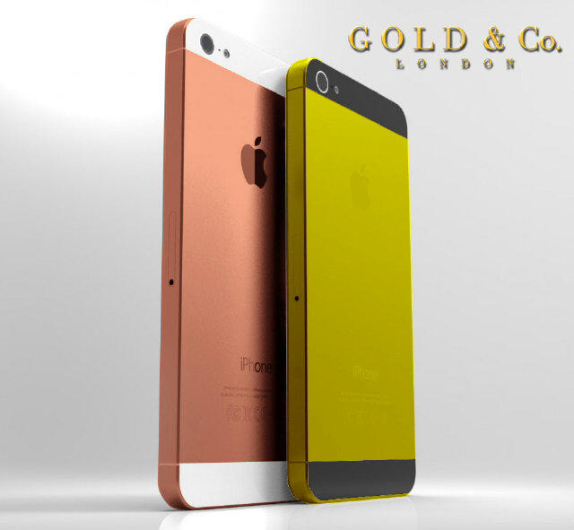 gold iPhone 5, Gold & Co, iPhone 5, dubai,