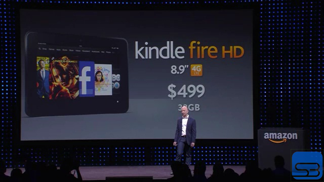Kindle Fire HD 8.9-inch 4G LTE 32GB
