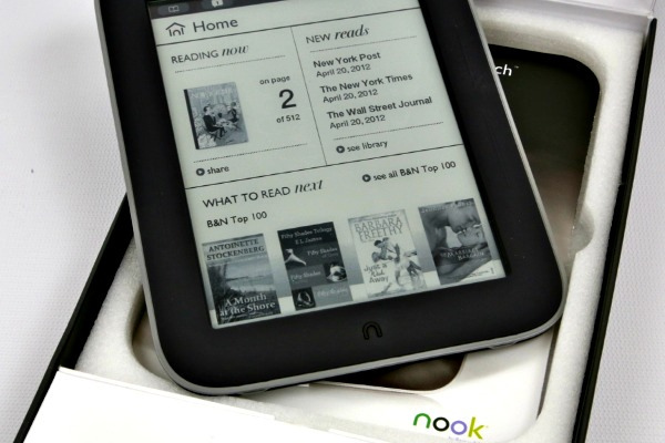 NOOK Simple Touch with GlowLight Now Only $119