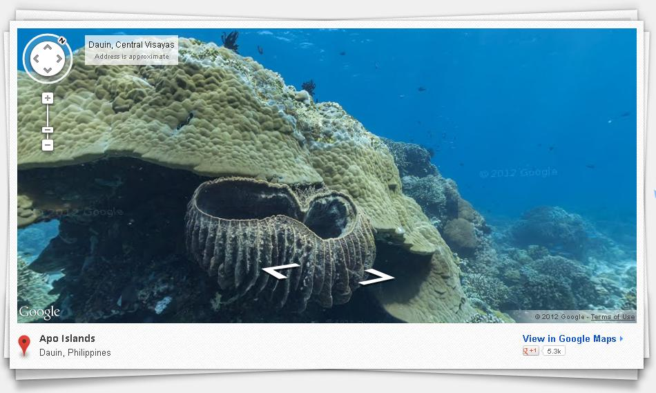 Google Maps Dives Deep Into The Ocean - Google ocean