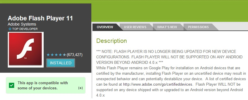 adobe-flash-player-11-for-android-reappears-on-google-play-store