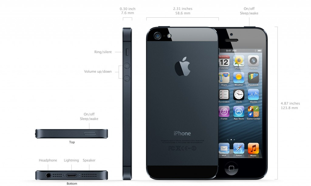 Apple's iPhone 5 Costs Only $167.50 To Build