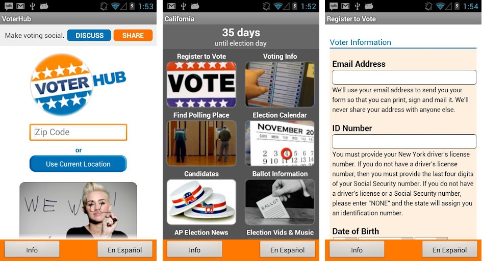 AT&amp;T Debuts VoterHub App for November 2012 General Election