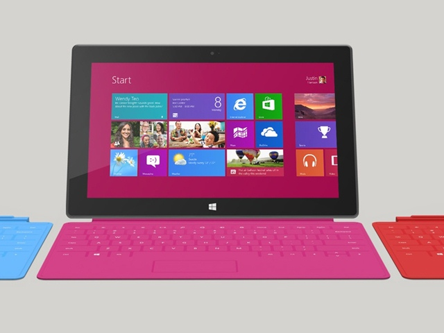 Microsoft, Surface tablet, Surface with Windows RT, preorder, specifications, 