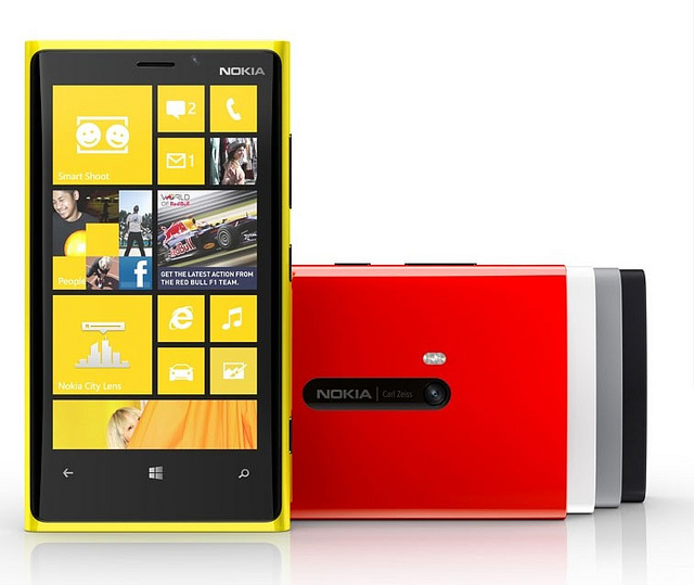 AT&T Adds Nokia Lumia 920, Nokia Lumia 820 For Fall Release