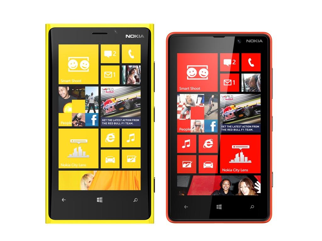 Lumia 920, Lumia 820, AT&T preorder
