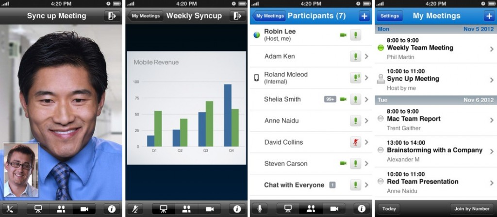 Cisco WebEx Meetings for iPhone