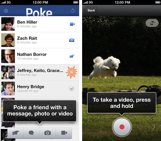Deleted Snapchat, Facebook Poke Videos Still Viewable