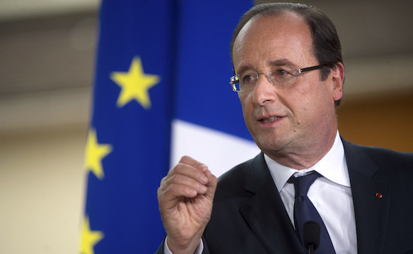 French President Francoise Hollande suggests that the Internet be taxed. (Image: via jewishjournal.com)