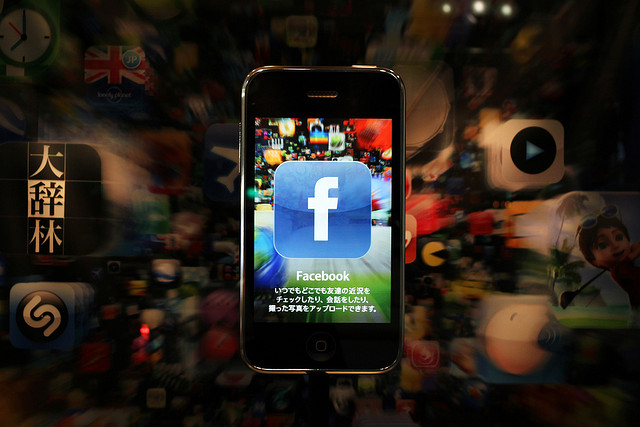 Facebook iOS app, sharing, video, voice