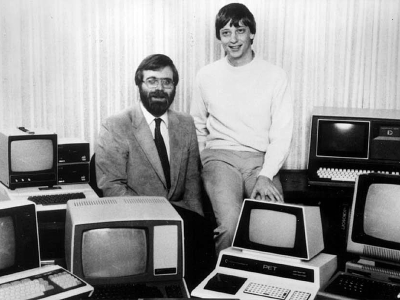 Microsoft, Bill Gates, Paul Allen,