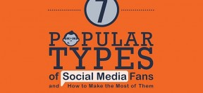 How To Benefit From The 7 Popular Types Of Social Media Fans [Infographic]
