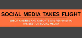 Which American Aviation Companies And Airports Are Doing Good On Social Media? [Infographic]