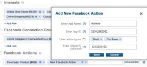Facebook now lets advertisers use action spec targeting. (Image: via techcrunch.com)