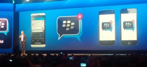 BBM for Android and iOS announced at the BlackBerry Live 2013. Featured image from Inside BlackBerry