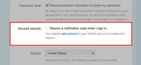 Twitter Introduces Two-Factor Authentication Via SMS